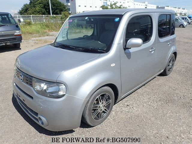 Used 2011 NISSAN CUBE BG507990 for Sale