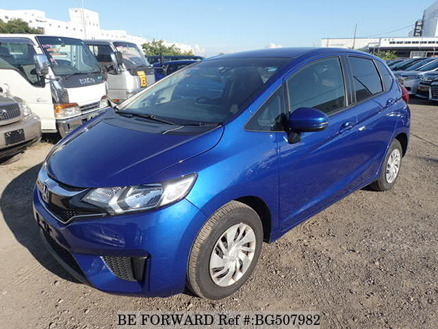 Used 2017 HONDA FIT BG507982 for Sale