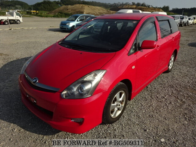 Used 2008 TOYOTA WISH BG509311 for Sale