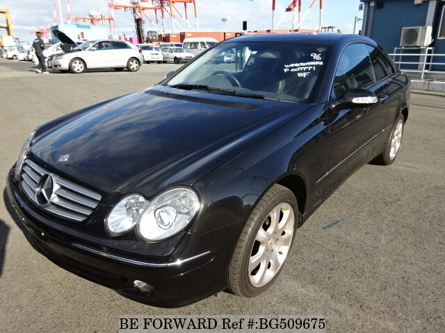Used 2002 MERCEDES-BENZ CLK-CLASS BG509675 for Sale