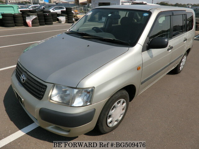 Used 2007 TOYOTA SUCCEED WAGON BG509476 for Sale