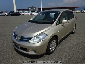 Used 2009 NISSAN TIIDA BG510657 for Sale