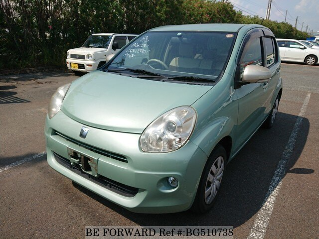Used 2010 TOYOTA PASSO BG510738 for Sale