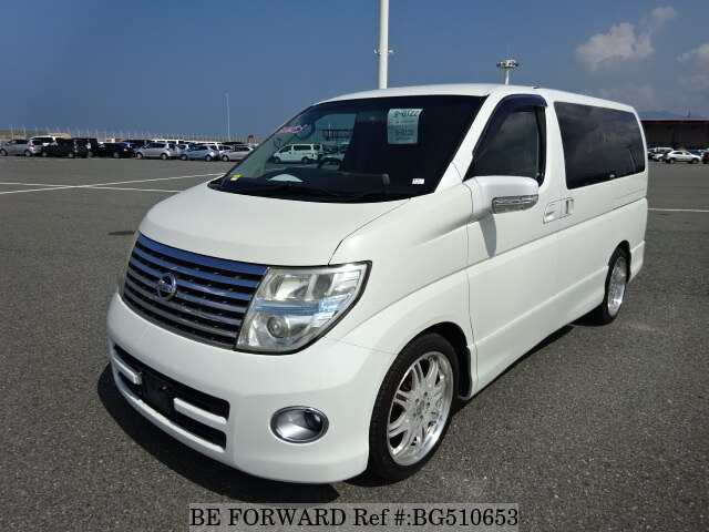 Used 2006 NISSAN ELGRAND BG510653 for Sale
