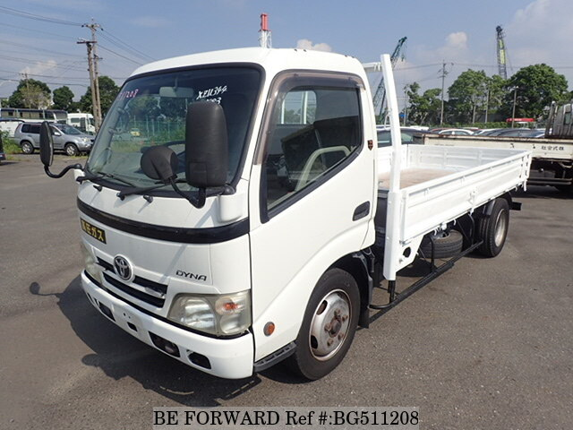 Used 2007 TOYOTA DYNA TRUCK BG511208 for Sale