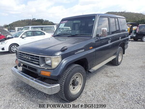 Used 1991 TOYOTA LAND CRUISER PRADO BG512399 for Sale