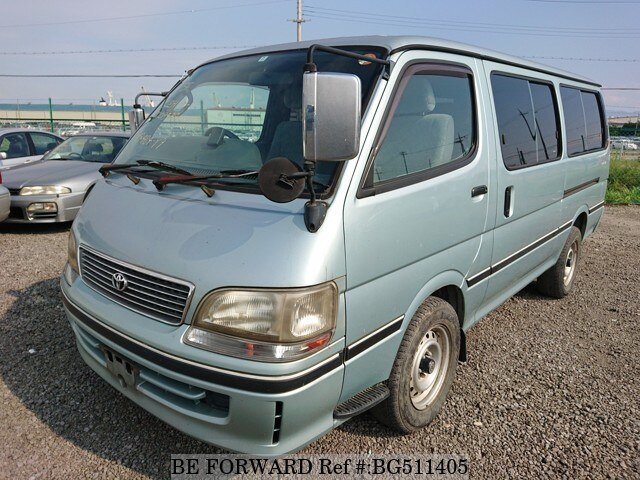 Used 1998 TOYOTA HIACE WAGON BG511405 for Sale