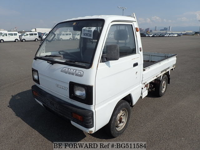 Used 1988 SUZUKI CARRY TRUCK BG511584 for Sale