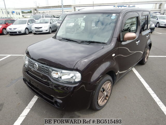Used 2014 NISSAN CUBE BG515493 for Sale