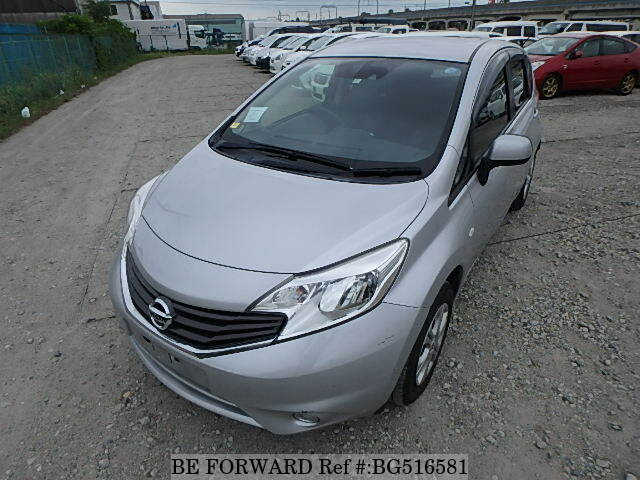Used 2014 NISSAN NOTE BG516581 for Sale