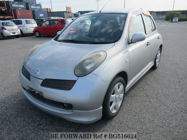 Used 2004 NISSAN MARCH BG516624 for Sale