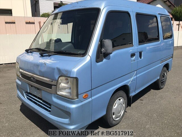 Used 2006 SUBARU SAMBAR BG517912 for Sale