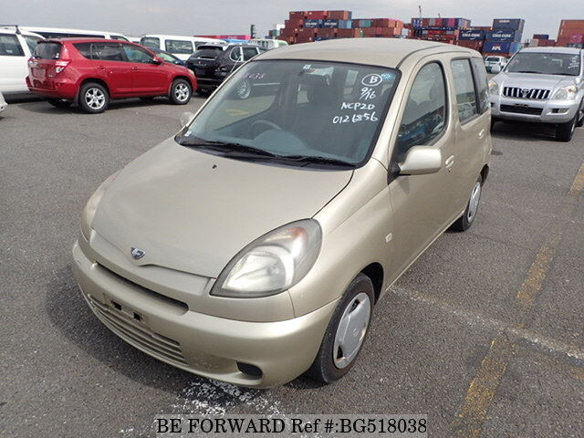 Used 2000 TOYOTA FUN CARGO BG518038 for Sale