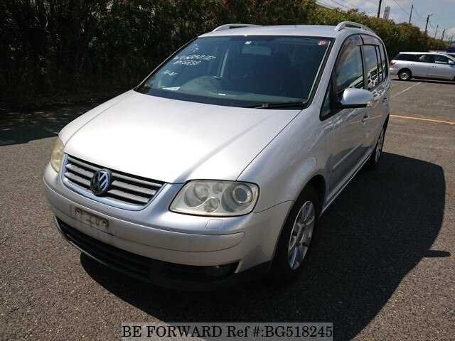 Used 2007 VOLKSWAGEN GOLF TOURAN BG518245 for Sale