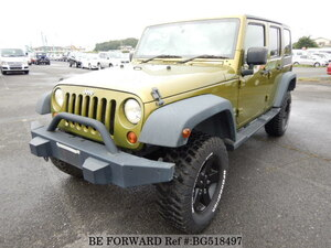 Used 2008 JEEP WRANGLER BG518497 for Sale