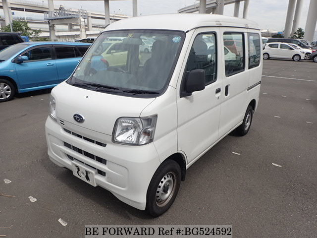 Used 2014 SUBARU SAMBAR BG524592 for Sale