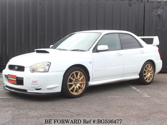 Used 2004 SUBARU IMPREZA WRX BG536477 for Sale
