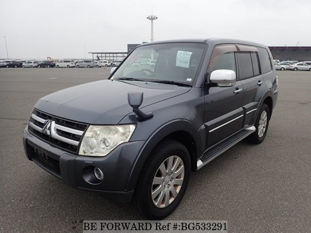Used 2007 MITSUBISHI PAJERO BG533291 for Sale
