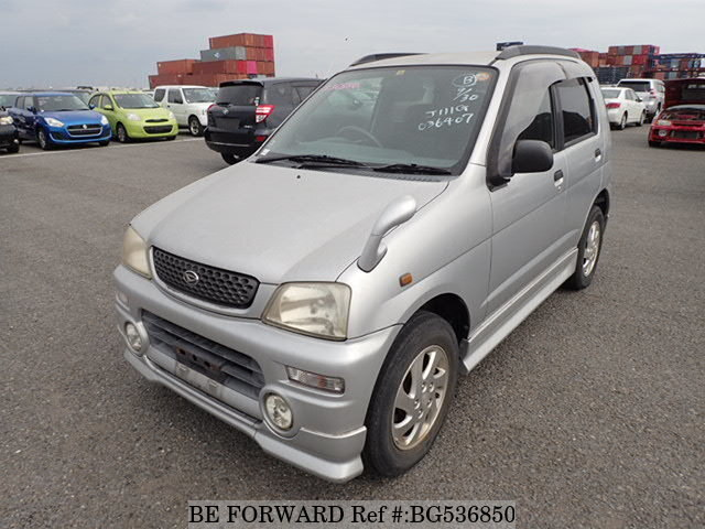 Used 2000 DAIHATSU TERIOS KID BG536850 for Sale