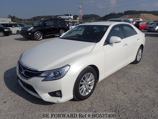 Used 2013 TOYOTA MARK X BG537409 for Sale