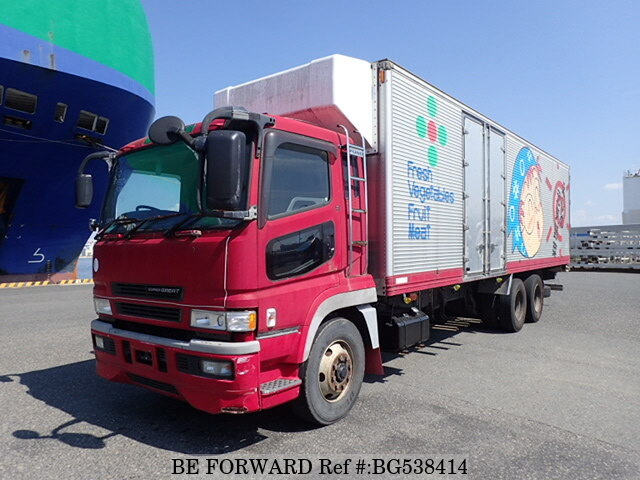 Used 2001 MITSUBISHI SUPER GREAT BG538414 for Sale