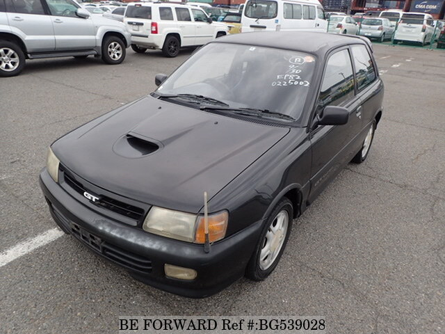 1992 Toyota Starlet Gt Turbo E Ep82 Bg539028 Usados En Venta Be Forward