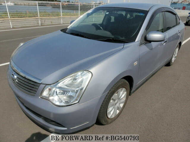 Used 2006 NISSAN BLUEBIRD SYLPHY BG540793 for Sale