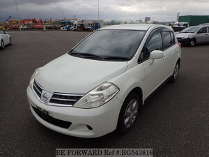 Used 2011 NISSAN TIIDA BG543816 for Sale