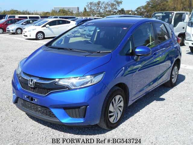 Used 2017 HONDA FIT BG543724 for Sale