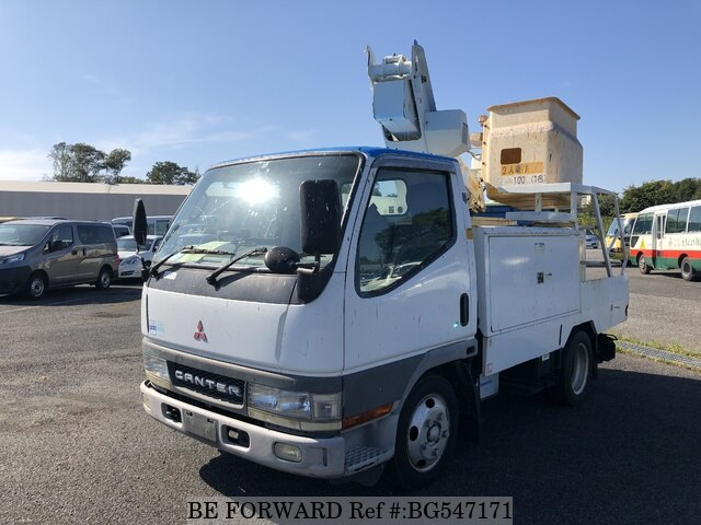 Used 2001 MITSUBISHI CANTER BG547171 for Sale