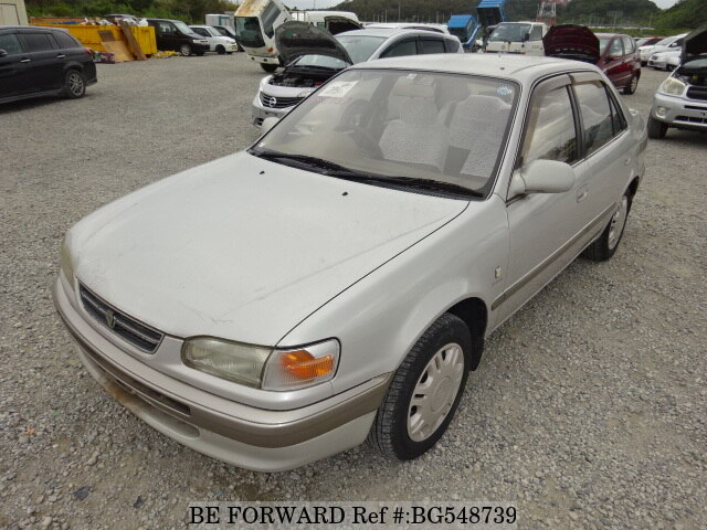 Used 1997 TOYOTA COROLLA SEDAN BG548739 for Sale