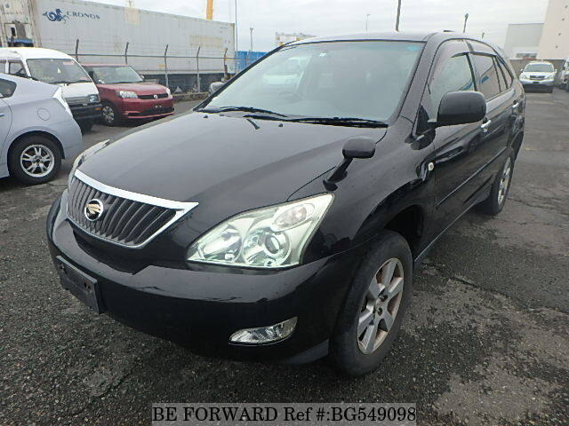 Used 2009 TOYOTA HARRIER BG549098 for Sale