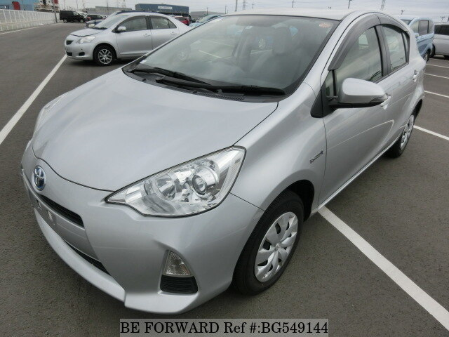 Used 2014 TOYOTA AQUA BG549144 for Sale