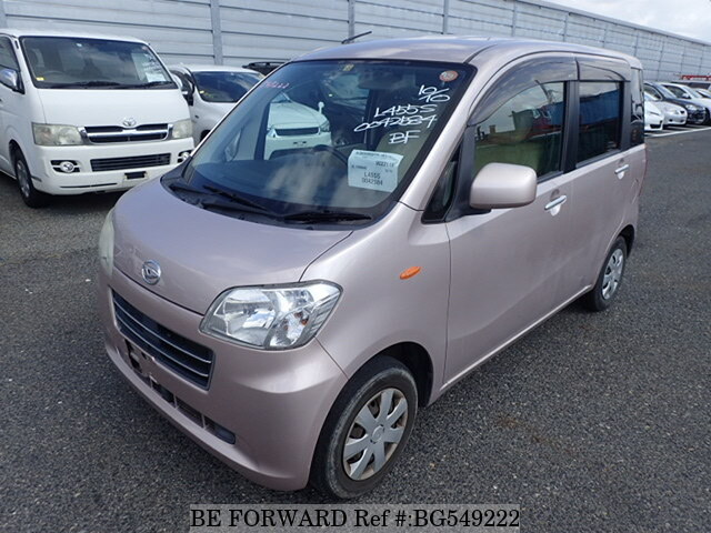 Used 2010 DAIHATSU TANTO EXE BG549222 for Sale
