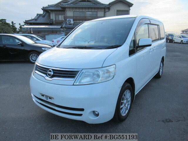 Used 2007 NISSAN SERENA BG551193 for Sale