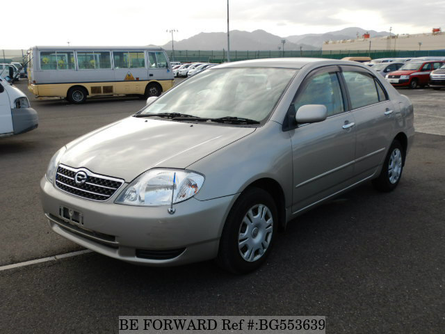 Used 2002 TOYOTA COROLLA SEDAN BG553639 for Sale