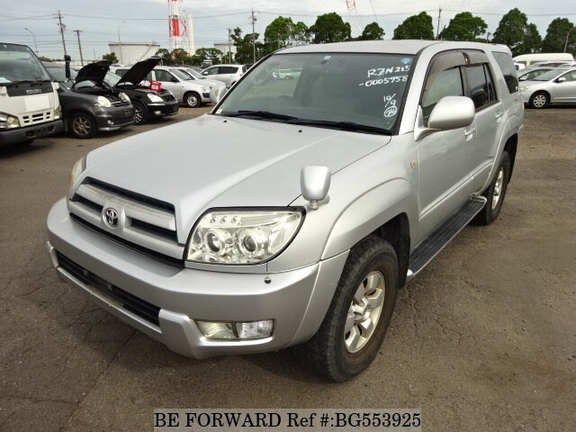 Used 2003 TOYOTA HILUX SURF BG553925 for Sale