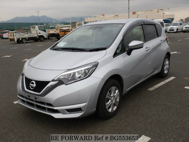 Used 2017 NISSAN NOTE BG553653 for Sale
