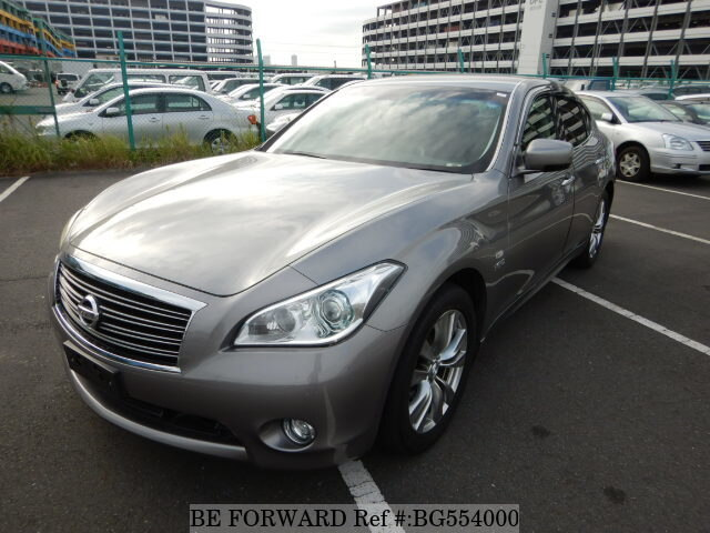 Used 2010 NISSAN FUGA HYBRID BG554000 for Sale