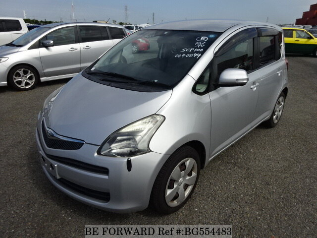 Used 2007 TOYOTA RACTIS BG554483 for Sale