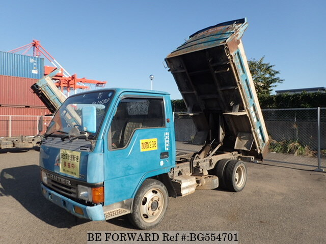 Used 1992 MITSUBISHI CANTER BG554701 for Sale