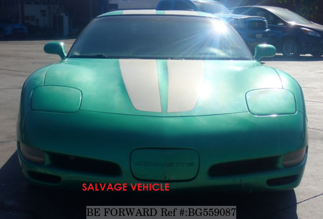 Used 2001 CHEVROLET CORVETTE BG559087 for Sale