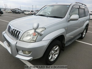 Used 2003 TOYOTA LAND CRUISER PRADO BG558949 for Sale