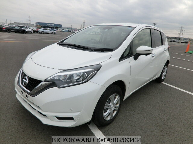 Used 2017 NISSAN NOTE BG563434 for Sale