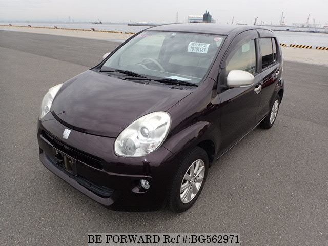 Used 2011 TOYOTA PASSO BG562971 for Sale