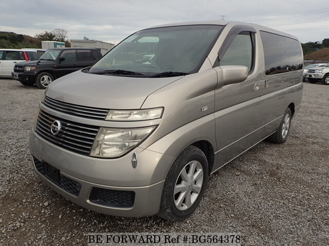 Used 2004 NISSAN ELGRAND BG564378 for Sale