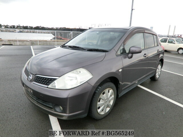 Used 2007 NISSAN TIIDA BG565249 for Sale