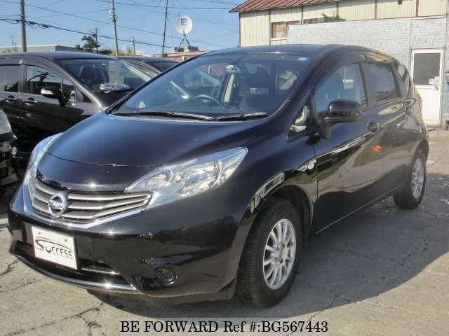 Used 2012 NISSAN NOTE BG567443 for Sale