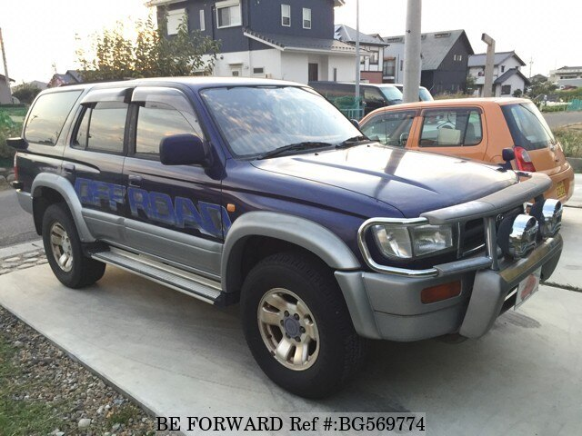 Used 1996 TOYOTA HILUX SURF BG569774 for Sale