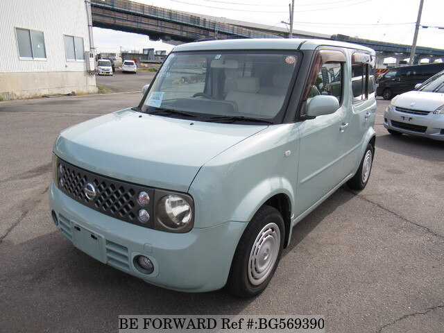 Used 2006 NISSAN CUBE BG569390 for Sale